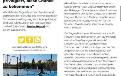 Lagebericht von Sascha Nensel aus Australien